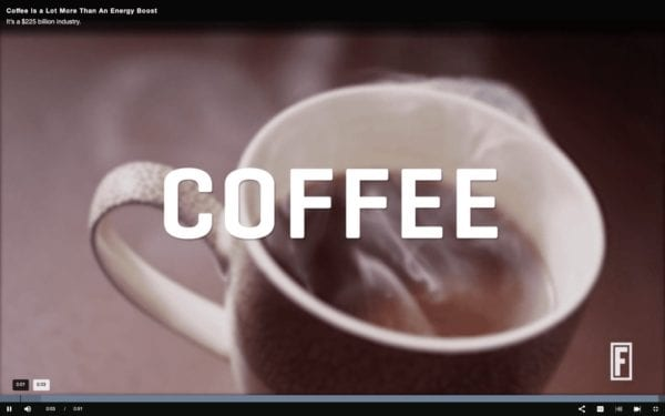 Impacts of Coffee in the US